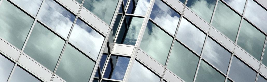 Sonnenschutzfolie Fassaden