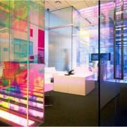 Farbeffekt mit Dichroic Glasdesignfolien
